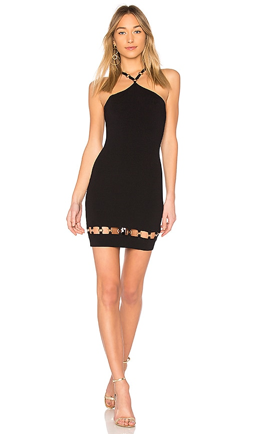 by the way. Tanya O Ring Mini Dress in Black