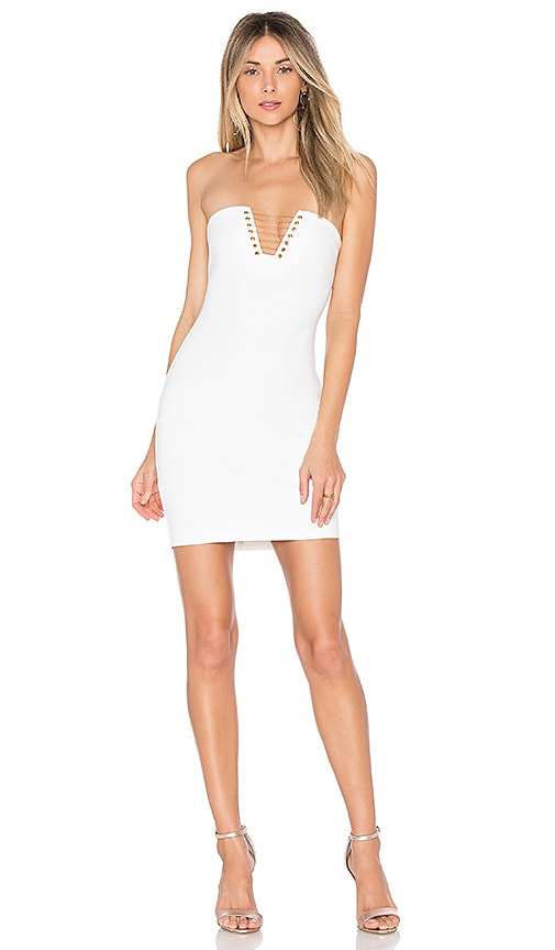 by the way. Mara Chain Dress in White