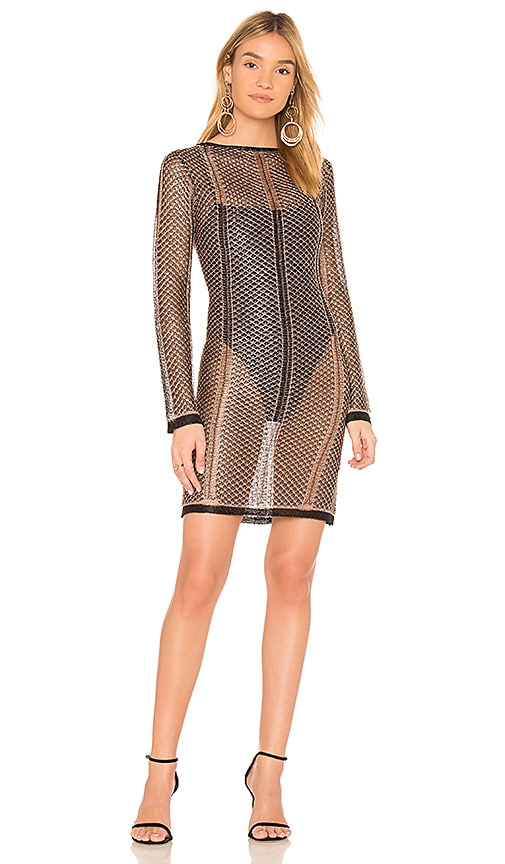 by the way. Ava Lurex Dress in Metallic Copper