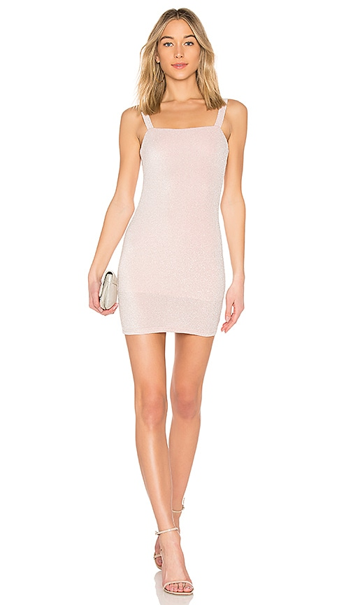 by the way. Alda Sparkle Mini Dress in Pink