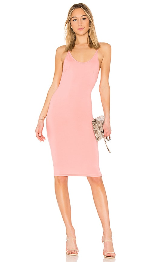 by the way. Kya Midi Dress in Pink
