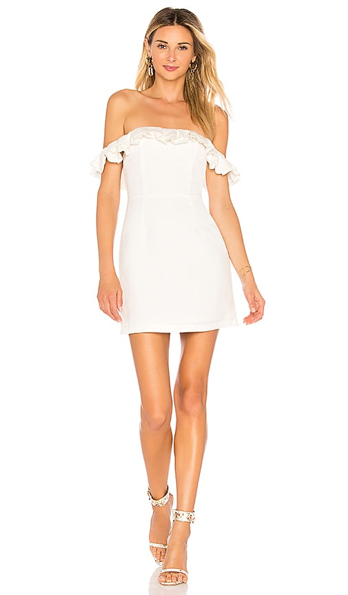 by the way. Emery Off The Shoulder Dress in Ivory