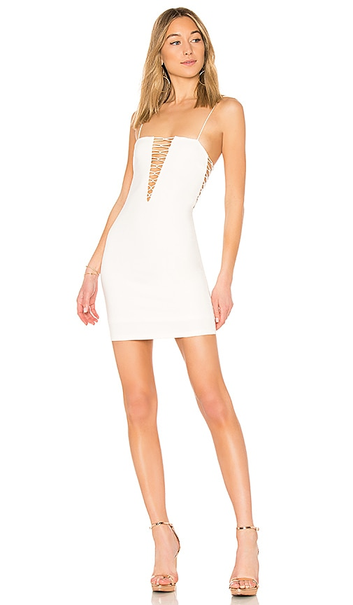 by the way. Taya Criss Cross Mini Dress in White