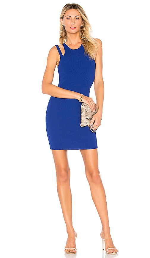by the way. Briela Cut Out Bodycon Dress in Royal