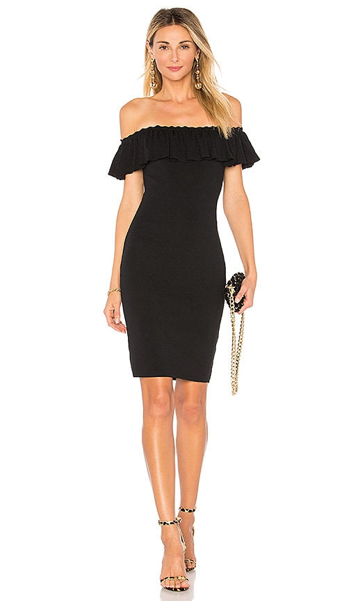 by the way. Whitney Off The Shoulder Dress in Black