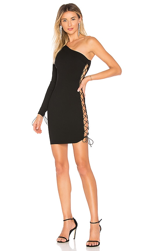 by the way. Alexandra One Shoulder Dress in Black