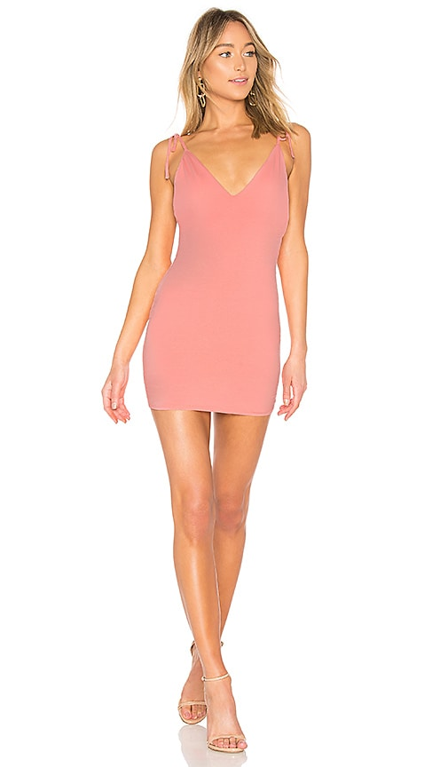by the way. Roxy Tie Strap Mini Dress in Pink