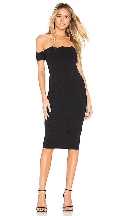 by the way. Xio Off Shoulder Dress in Black