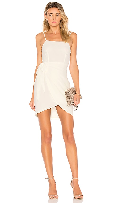 by the way. Morgan Layered Mini Dress in Cream
