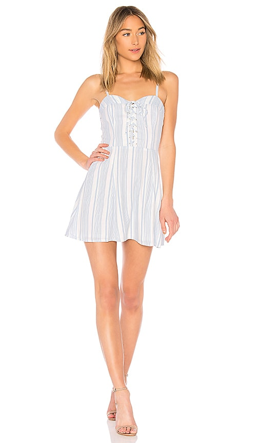 Libby Lace Up Dress