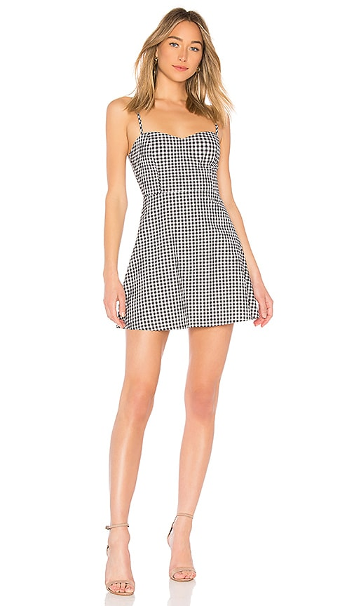 by the way. Viola Sweet Heart Dress in Black & White