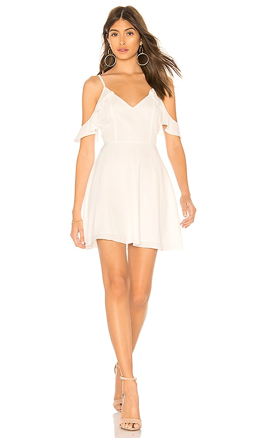 by the way. Mandy Cami Fit & Flare Dress in White