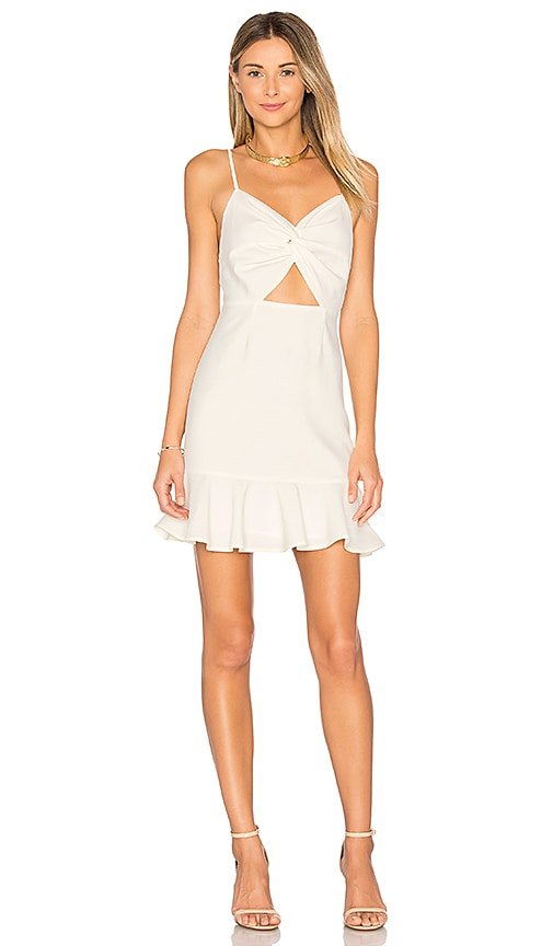 by the way. Francis Mini Dress in Ivory