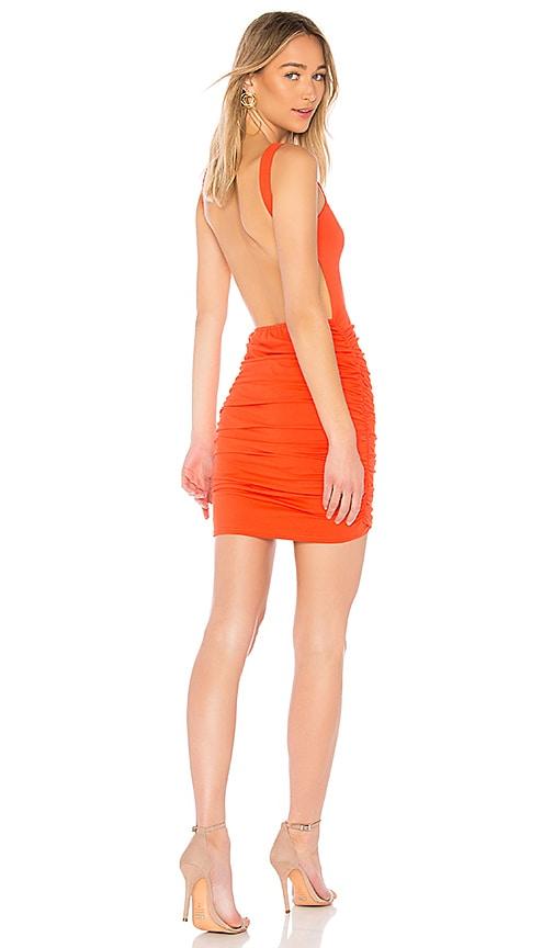 by the way. Dani Backless Dress in Orange