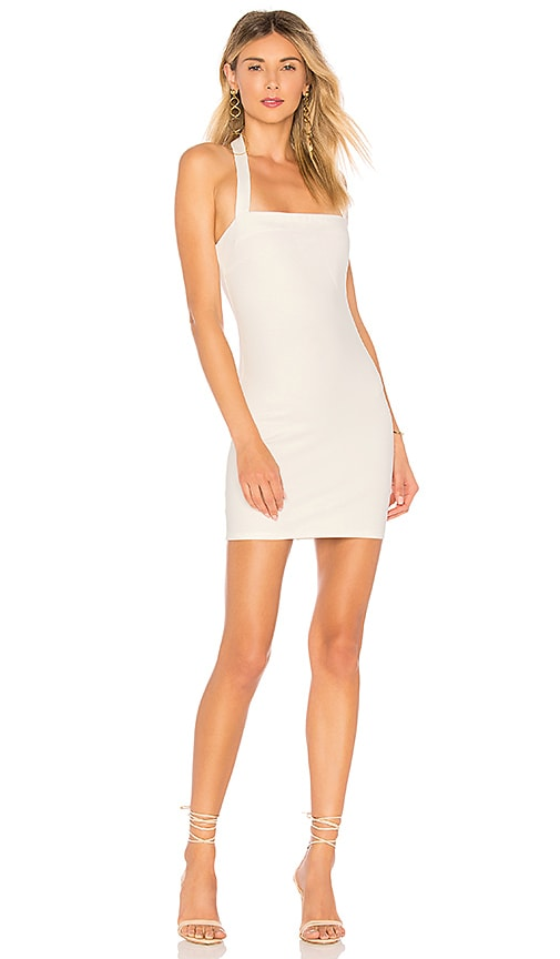 by the way. Halley Bodycon Dress in White
