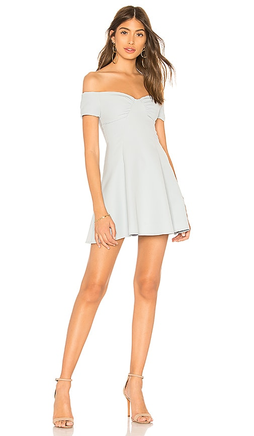 Monica Fit & Flare Dress in Baby Blue. - size XS (also in L,M,S,XXS) by the way.