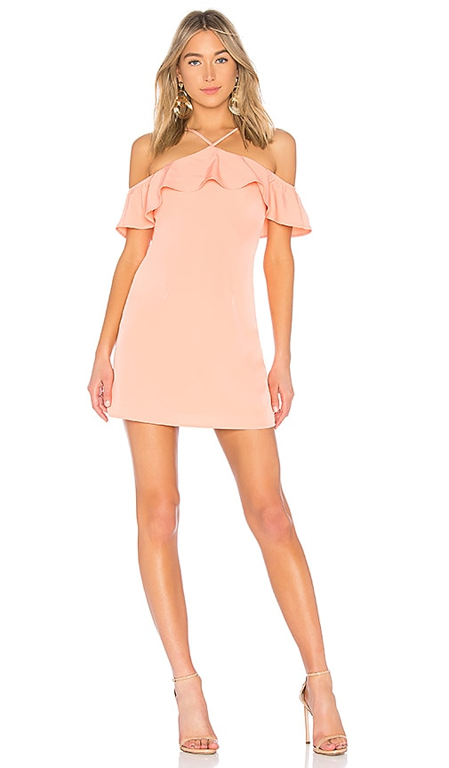 Emma Keyhole Bodycon in Blush. - size L (also in M,S,XS,XXS) by the way.