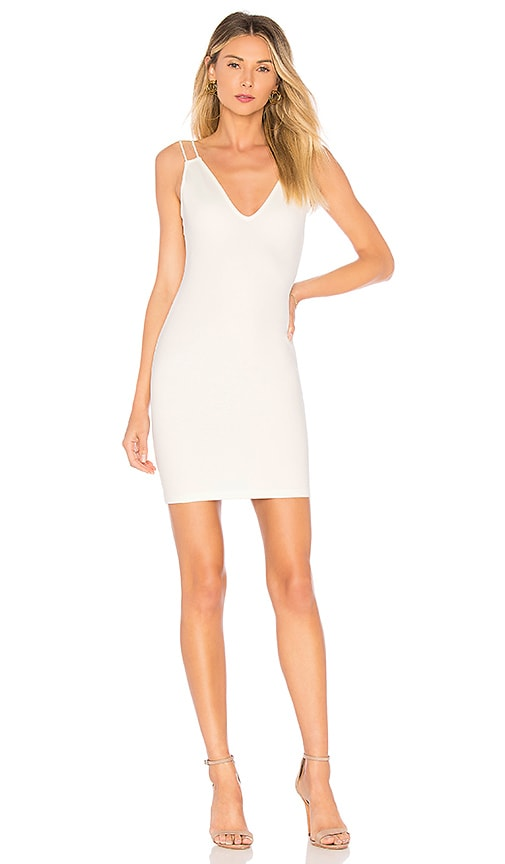 by the way. Aria Bodycon Mini Dress in White