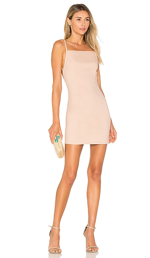 by the way. Petra Backless Mini Dress in Rose