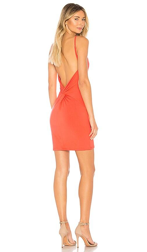by the way. Alayna Mini Dress in Orange