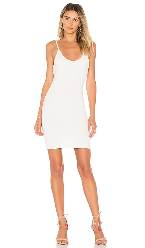 by the way. Janne Backless Knit Mini Dress in White