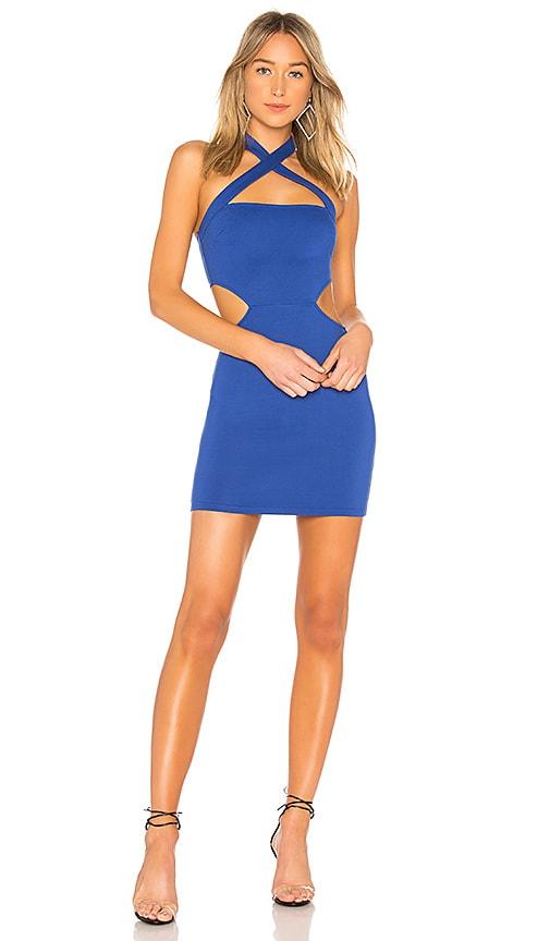 Julianna Cross Front Dress