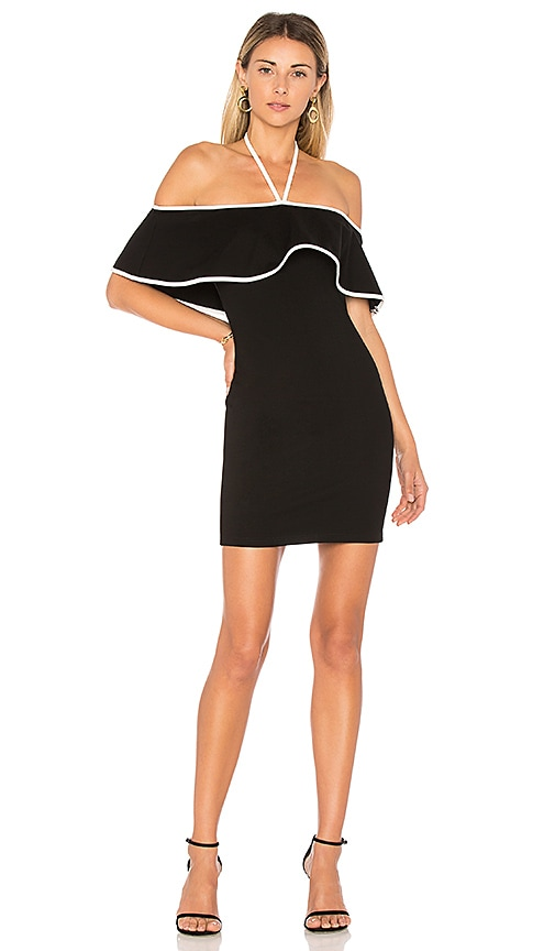 by the way. x REVOLVE Rei Mini Dress in Black