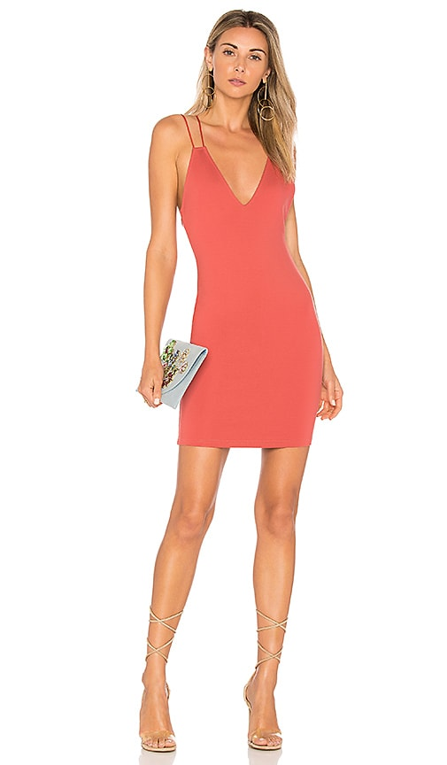 by the way. Aria Bodycon Mini Dress in Rose