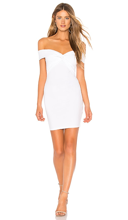 Yumi Off Shoulder Knot Dress