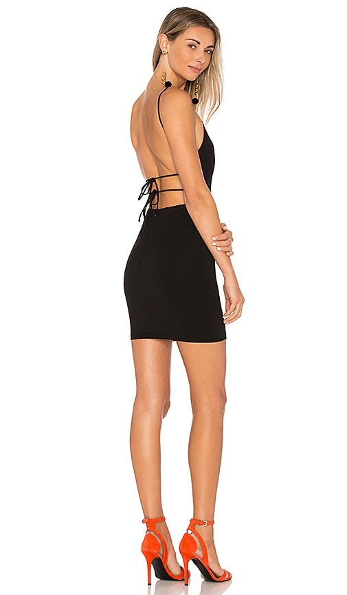 by the way. x REVOLVE Solange Mini Dress in Black