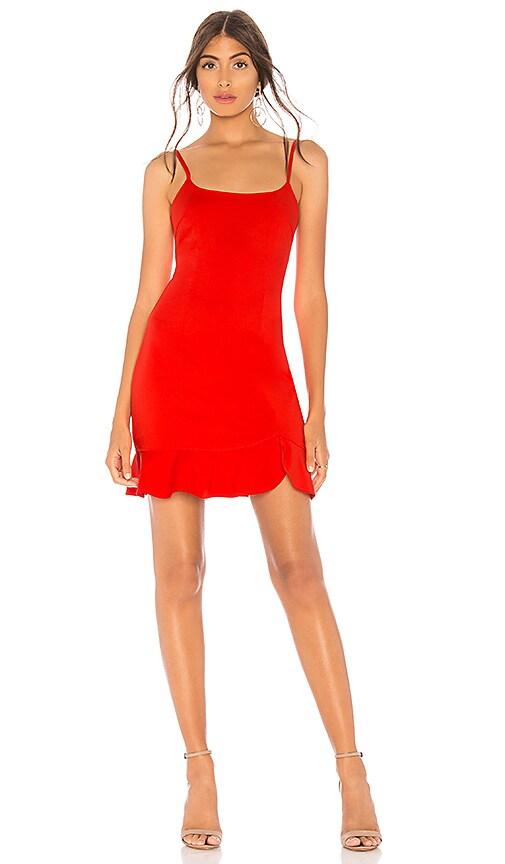 Shayla Ruffle Mini Dress