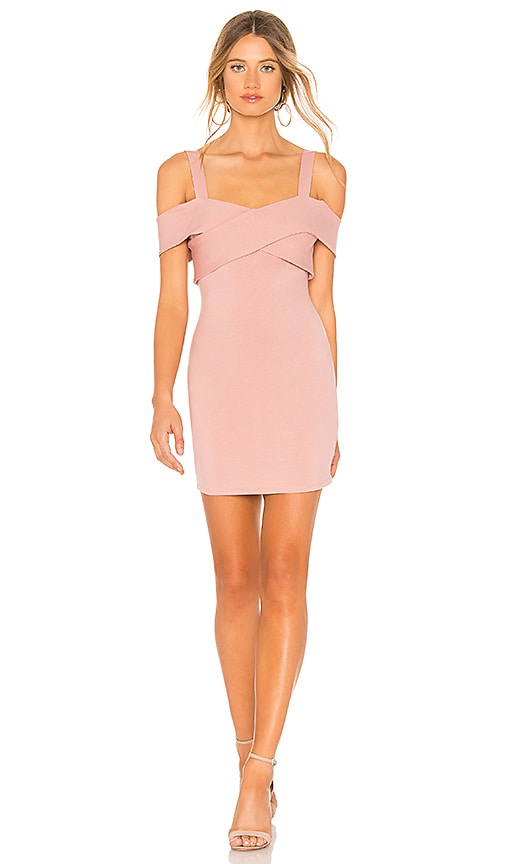 cc7597f979bf by the way. Evie Cold Shoulder Mini Dress in Mauve | REVOLVE
