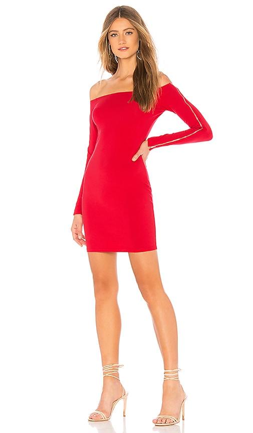 Alliza Zip Sleeve Mini Dress