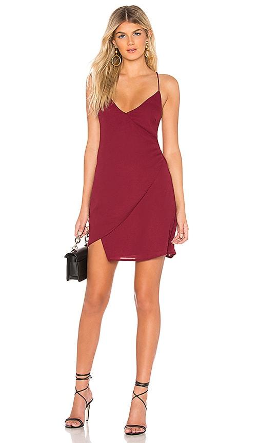 Aiden Wrap Mini Dress