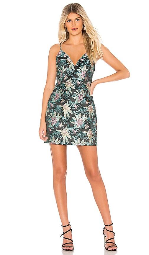 Suri Brocade Mini Dress