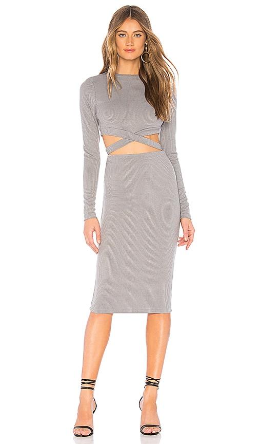 Christa Cut Out Midi Dress