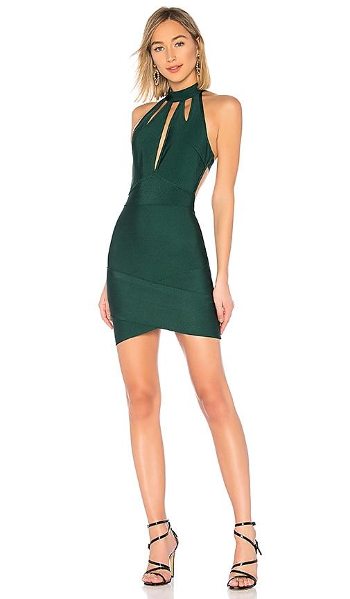 Ansie Halter Cut Out Dress