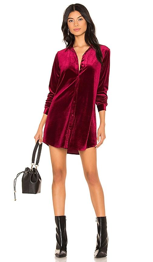 d513dbef4061c by the way. Vella Velvet Mini Dress in Wine Red | REVOLVE