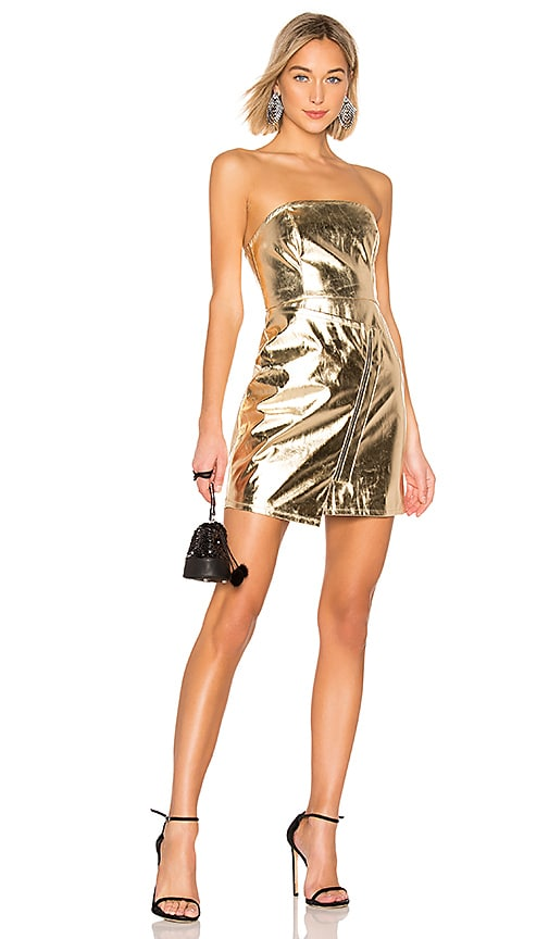 Skylar Faux Leather Dress