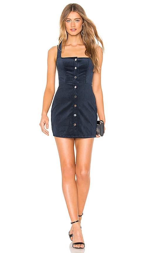 Demi Corduroy Button Up Mini Dress