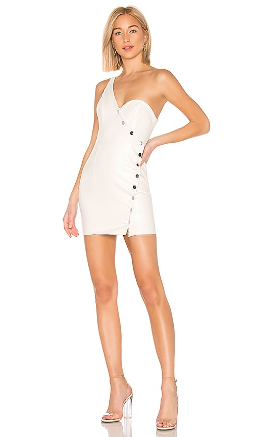 Jackie Button Front Mini Dress