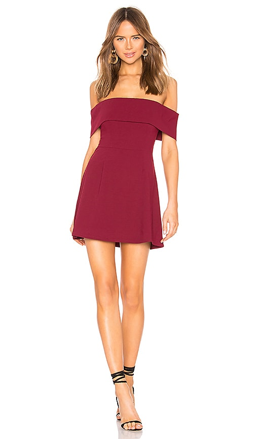 Aubrey Off Shoulder Dress