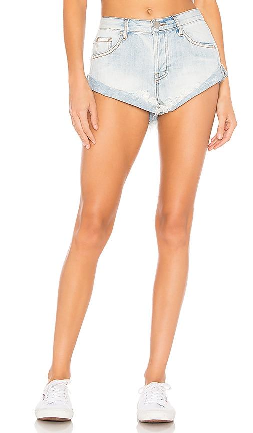 Sasha Frayed Hem Shorts