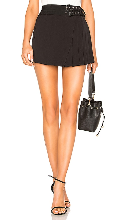 Xiomara Buckle Pleated Skort