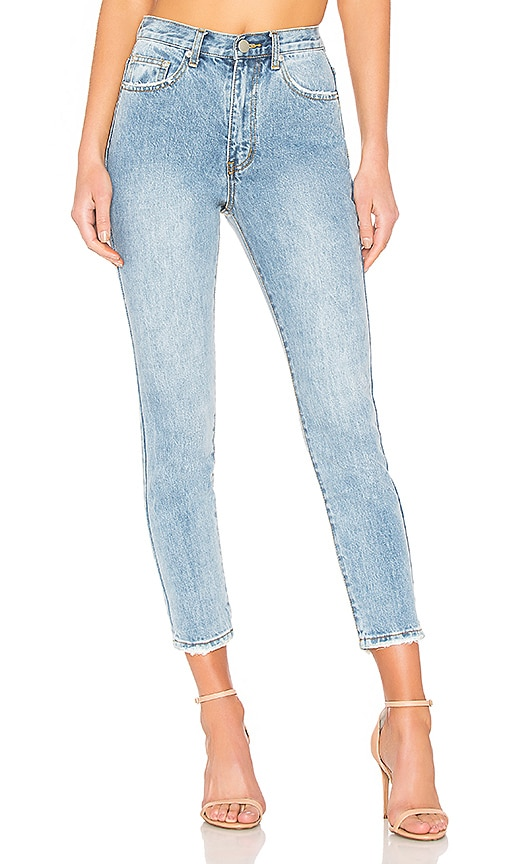 by the way. Jackie Skinny Jeans in Mid Wash Blue