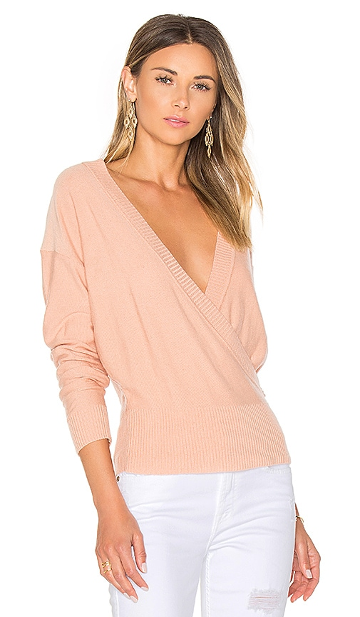 Danna Surplice Sweater