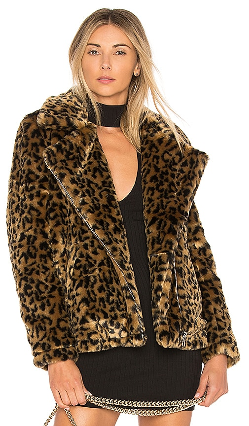 Dallas Faux Fur Coat