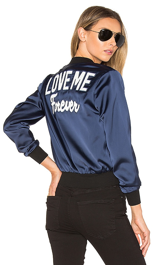 by the way. Love Me Bomber in Blue