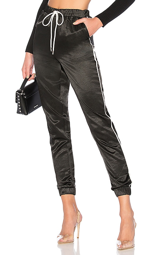 Jimena Contrast Piping Pants