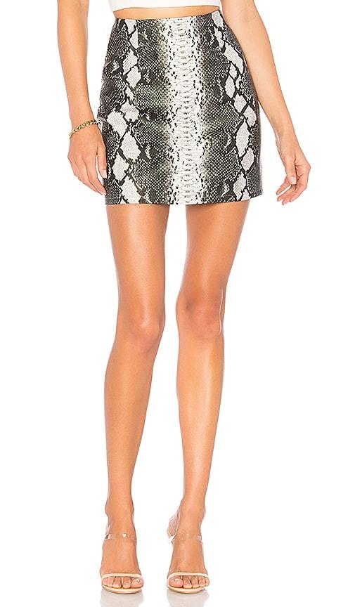 Cassandra Snake Mini Skirt
